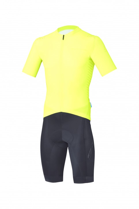 Shimano S-Phyre Skin Suit, gelb