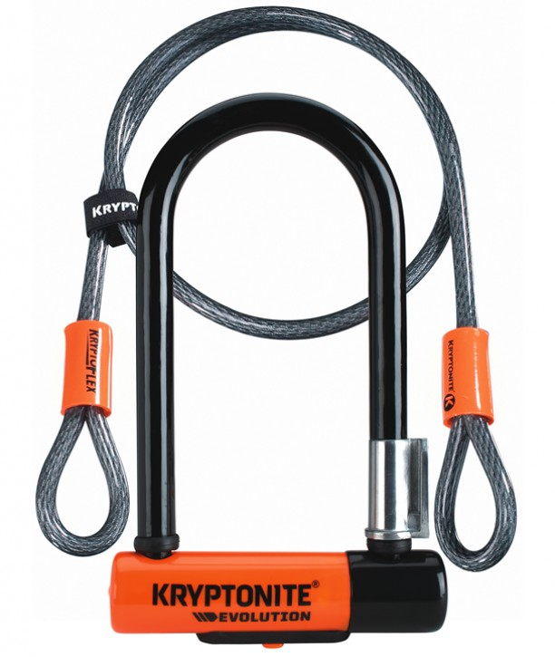Fahrradschloss Kryptonite Evolution Mini 7 + Kryptoflex 120