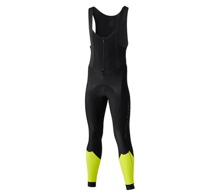 Shimano S-Phyre Bib Long Tights  Neon Yellow