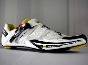 Mavic Rennradschuh Zxellium 2011 black / white / yellow mavic