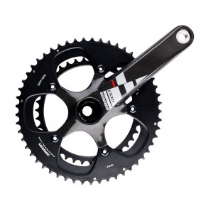 SRAM RED Kurbel Black Edition 50/34T, 175mm